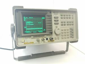 Hp Agilent 8591a 021 Spectrum Analyzer 9 Khz To 1 8 Ghz W accessories