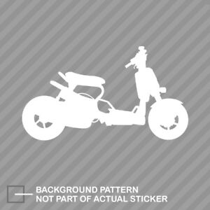 Ruckus Modified Sticker Decal Vinyl Moped Scooter