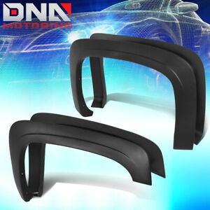 For 2007 2014 Chevy Silverado Fleetside Oe Style Paintable Wheel Fender Flares