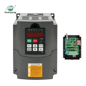 New Vfd Variable Frequency Drive Inverter 4hp 13a 110v 3kw Top