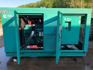 2006 Cummins Onan Generator Qsl9 g5 275kw Enclosed 480v Multi Voltage Digitali
