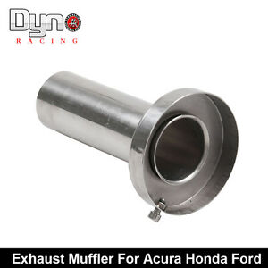 Insert Removable Silencer For 4 5 Tip Stainless Exhaust Muffler