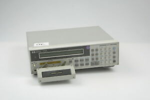 Hp 4263b Lcr Meter 100hz To 100khz With 16047a Test Fixture