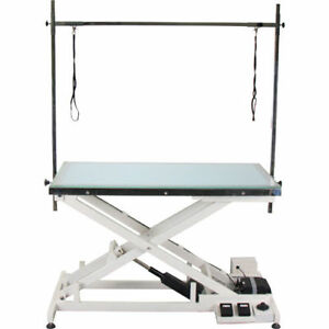 New Veterinary Operating Grooming Table Ft 829 With Led Illumination Top