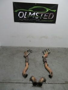 04 05 06 Pontiac Gto Slp Coated Headers1 3 4 Catted Mid Pipes Slp 30168 Ls2