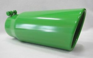 Arctic Cat Green 4 Inlet 5 Outlet 12 L Diesel Exhaust Tip Ford Dodge Chevy