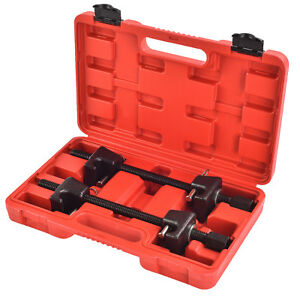 2pcs Heavy Duty Coil Spring Compressor Strut Remover Installer Tool Set