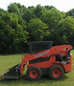 2016 Kubota Ssv75 Skid Steer Loader W bucket Low Hours Diesel 2 Speed