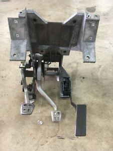 05 13 Corvette C6 Oem Manual Transmission Clutch Brake Gas Pedal Assembly