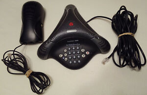 Polycom Voicestation 500 Bluetooth Enabled Conference Phone With Wall Unit