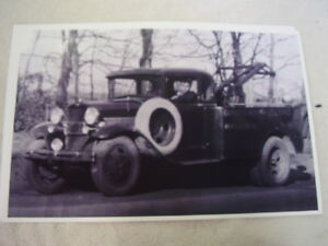 Ford Model A Tow Truck Coupe Body Aa Chassis Neat 11 X 17 Photo Picture