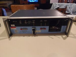 Spectracom Model 8161 Standard Frequency Receiver Oscillator For Parts