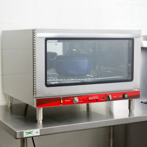 Single Deck Full Size Electric Countertop Convection Oven With Steam Injection