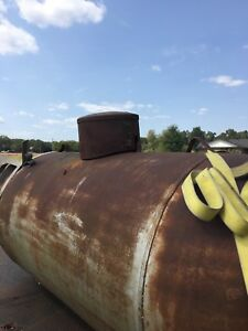 500 Gallon Tank Has Not Been Used In 20 Years Bought To Convert Into A Smoker