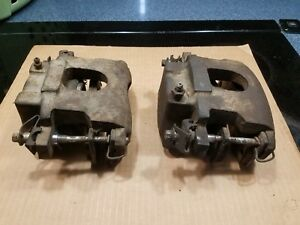1970 Only Cuda Challenger Wide Mouth Kelsey Hayes 80012 Disc Brake Calipers