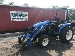 2012 New Holland T2320 4x4 Compact Tractor W Loader Coming In Soon
