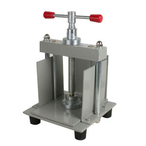 A4 Size Manual Flat Paper Press Machine For Photo Books Invoices Checks Office