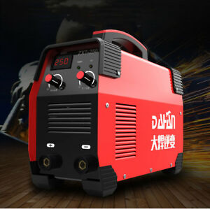 Zx7 250 Mini Mma Welder 220v 380v 7900w Welding Machine Solder Inverter Mask