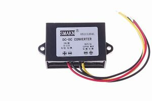 Smakn Waterproof Dc dc Power Converter 5v 11v To 12v 4a Booster