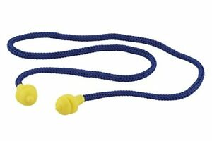 Wolfcraft 1 Pair Of Ear Plugs Reusable With Cord Snr 33 Db Din En 352 2 2002