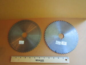 Cowles Tool Co Plain Metal Milling Saw Blade 8 X 1 8 X 1 1 4 56 Teeth H s