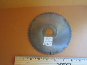 Plain Metal Milling Saw Blade 6 X 1 16 X 1