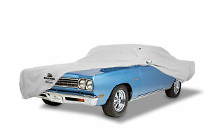 1968 1970 Plymouth Road Runner Custom Fit Grey Stormweave Outdoor Car Cover New