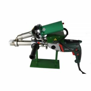 Ac220v Handheld Plastic Extrusion Welder Hot Air Extruder 5001b For Pp pe