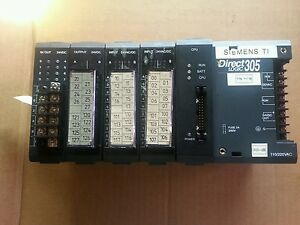 Plc Direct Logic 305 Programmable Controller With Cpu Inputs Outputs used