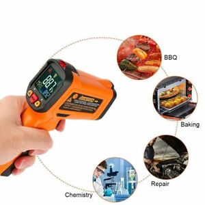 Infrared Thermometer Non Contact Laser Thermometer Gun For Oven Kitchen Cooking