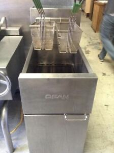 35 40 Lb Gas Deep Fryer Stainless Dean Commercial Restaurant Nsf