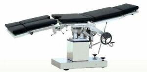 New Surgical Operating Table 3001e Multi Purpose Manually Operated X ray Capable