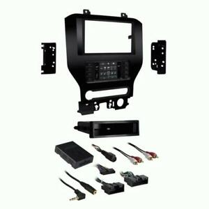 Metra 99 5840ch 1 2din Turbo Touch Dash Kit For Ford Mustang W 8 Screen 2015 Up