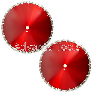 2pk 16 Diamond Saw Blade For Brick Block Concrete Pavers Refractory Brick