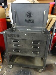 Matco Tools Toolbox Rolling On Wheels Cart Local Pickup Only