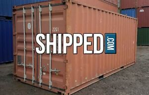 Used 20ft Shipping Container Home Business Storage We Deliver In Cleveland Ohio