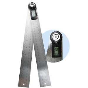 360 Degree 600mm 60cm 23 5 8 In Digital Angle Ruler Angle Gauge Finder Meter