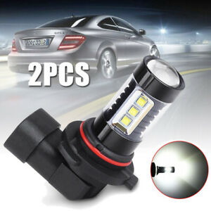 2pcs 9006 Hb4 80w High Power Led Fog Light Lamp Bulb 6500k Super White