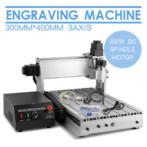 3 Axis 3040 Router Engraver 3d Engraving drilling milling Machine 300w Cnc