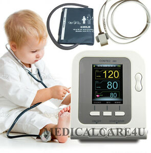 Child Blood Pressure Monitor Nibp Sphygmomanometer Contec08a child Spo2 Sensor