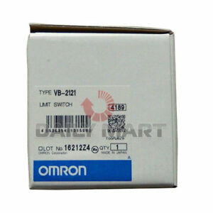New Omron Automation And Safety Vb 2121 Limit Switches 2 Bevel Plunger 4 Conduit