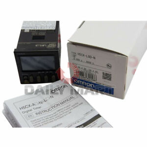 New Omron Multifunction Digital Timer 8 Pin 12 24vac dc H5cxl8dn