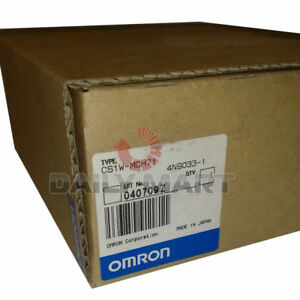 New Omron Programmable Logic Controller Module Cs1w mch71 Motion Control Unit