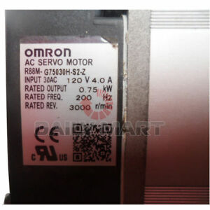 New Omron R88m g75030h s2 z Motor Servo Ac Inc Key Lead Free Programmable Logic