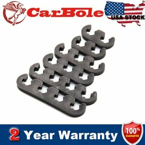 6pcs Plastic 7mm 8mm Spark Plug Wire Separators Dividers Looms For Chevy Ford Bl