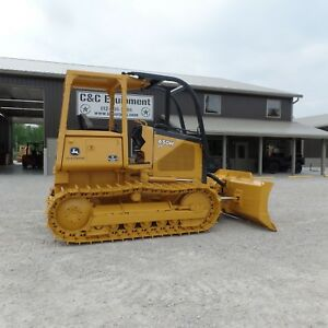 2000 John Deere 650h Lt Dozer 100 New Bottom Excellent Shape