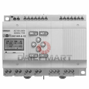 Omron New Zen 20c1dr d v2 Plc Automation Analog Programmable Relay