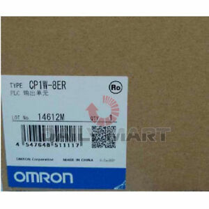 Omron Plc Output Unit Cp1w 8er Accessory Expansion I o 8 out Relay Brand New