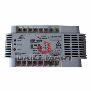 Omron S82k 10024 Plc Ac Dc Converter Power Supply Switch New