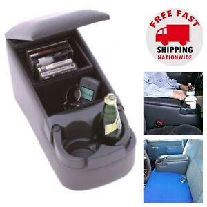 Car Center Console Armrest Bench Seat Organizer Cup Holder Front Rear Truck Suv